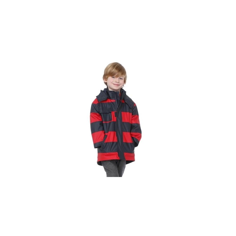 daa103a86 Hatley-Rainwear-Boys-Splash-Jacket-in-Navy-Red