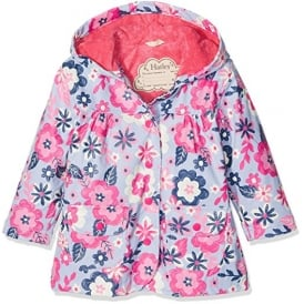Rainwear Girls Wintery Blooms Raincoat