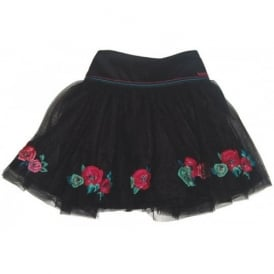 Girls Black Pettiskirt