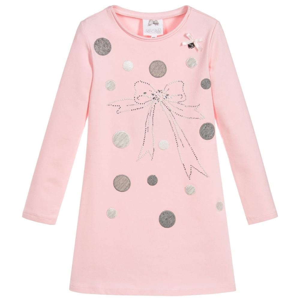 41555fc08f07 Le-Chic-Girls-Pink-Dress-AW18