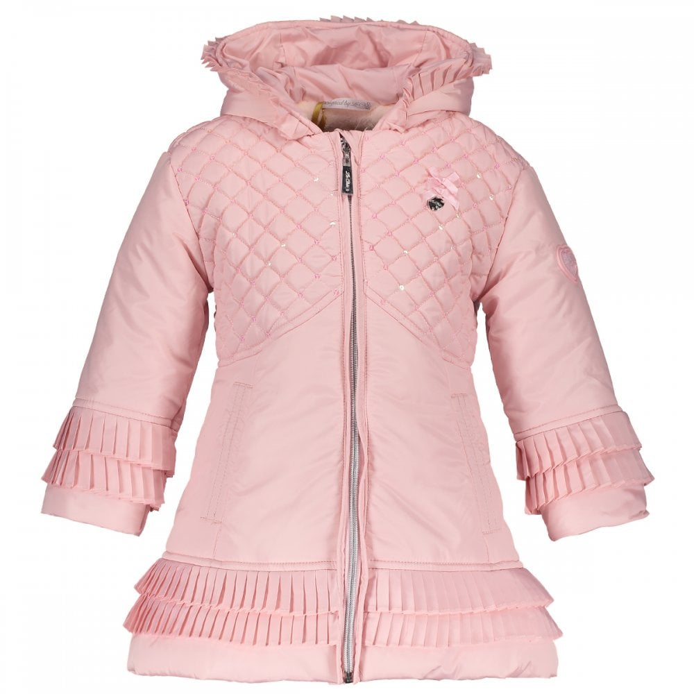 0ed78f203 Le-Chic-Girls-Pink-Padded-Jacket-AW18