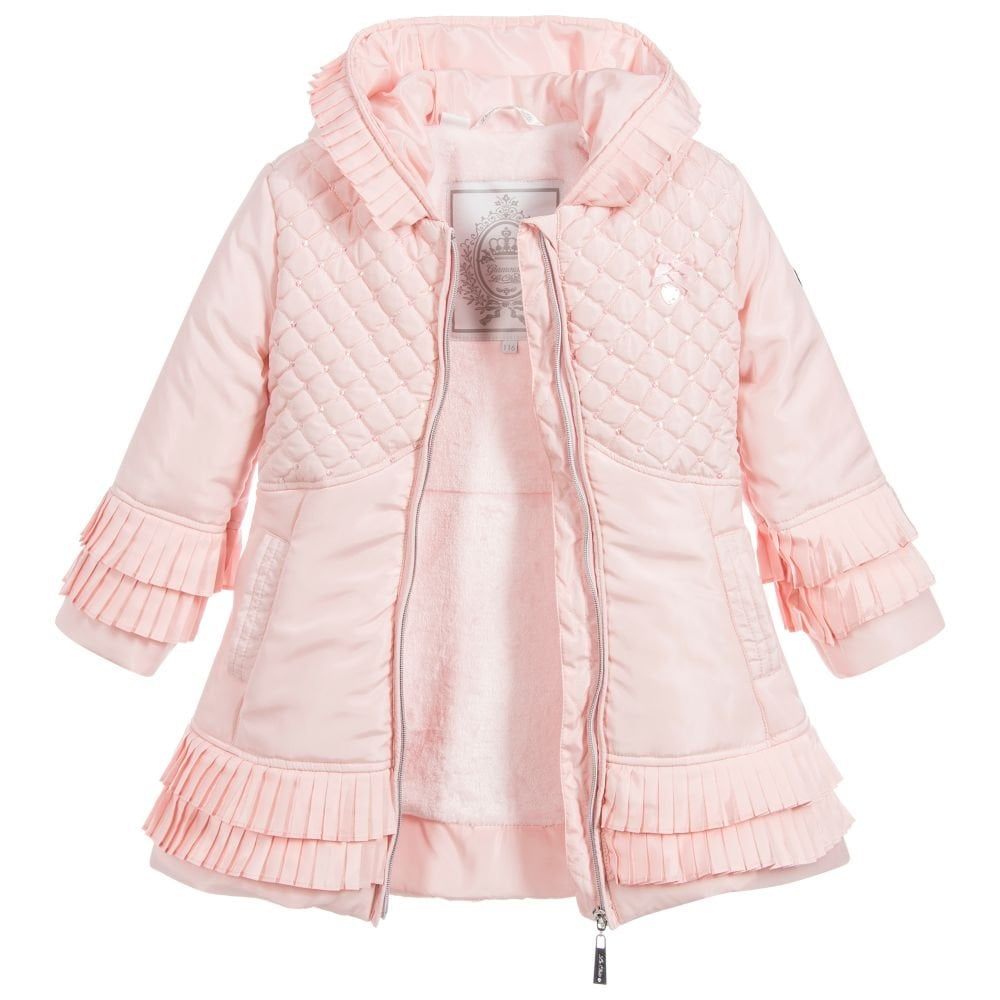 c3cc9349b33f Le-Chic-Girls-Pink-Padded-Jacket-AW18