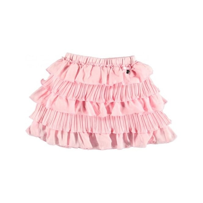 Le Chic Girls Pink Rah Rah Skirt
