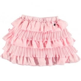 Girls Pink Rah Rah Skirt