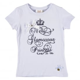 Girls Powder Blue T-shirt