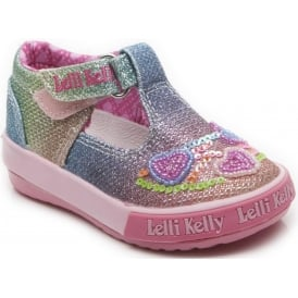 Baby Glitter Heart T-Bar Canvas 5023