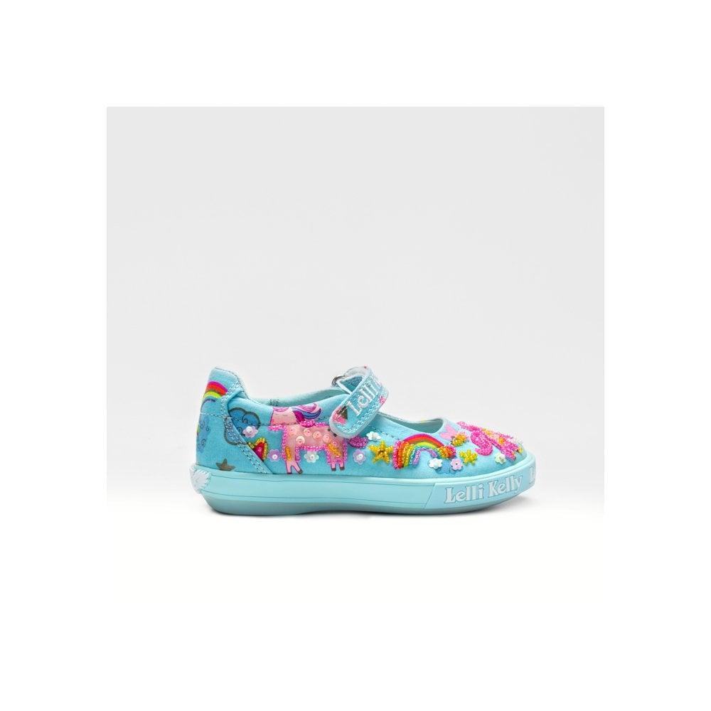 Lelli Kelly LK9050 Unicorn Girls Canvas Shoes