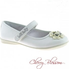 Lucia White Dolly Shoe 7710