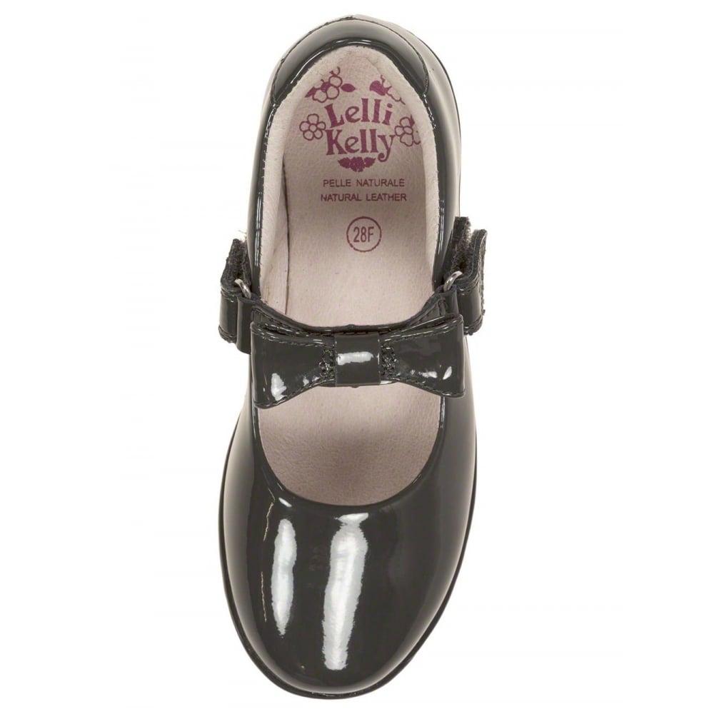 Lelli-Kelly-Grey-Patent-School-Shoe