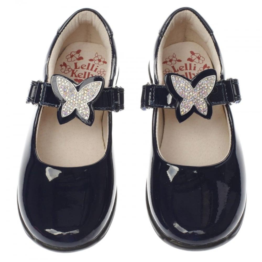 Lelli-Kelly-Navy-Patent-School-Shoe