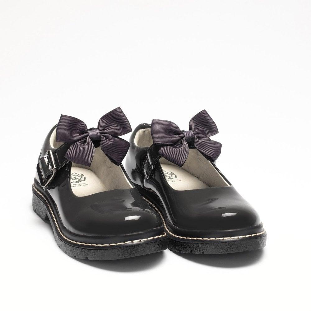 lelli kelly patent school shoes factory