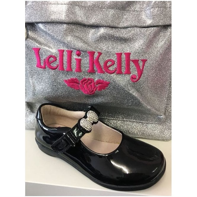 Lelli Kelly School Shoe Mandy in Navy Patent