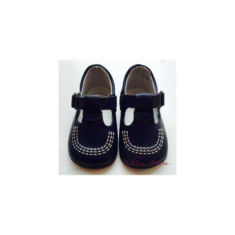 Baby Boy Designer Pram Shoes