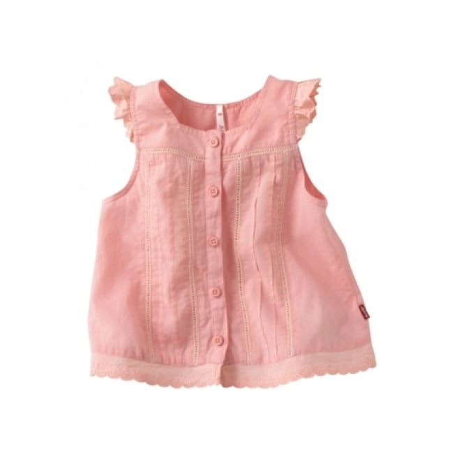 Levis Baby Girl Salmon Pink Blouse