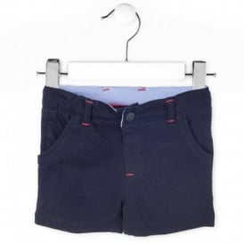Baby Boy Navy Shorts
