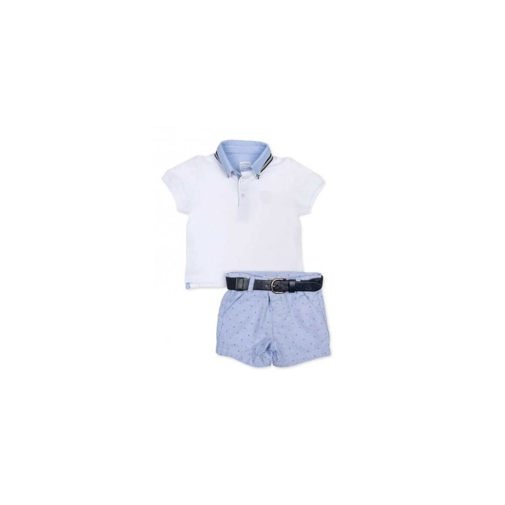 dcc71250d2187 Losan-Baby-Toddler-Boy-Polo-and-Short-Set
