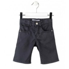 Boys Smart Navy Shorts