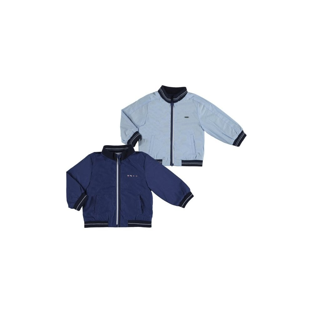 86d7bac45 Baby Boy Blue/Navy Reversible Windbreaker
