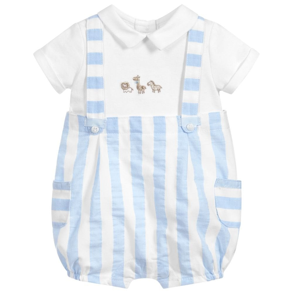 f2a8317e8 Mayoral-Baby-Boy-Sky-Dungaree-Shortie