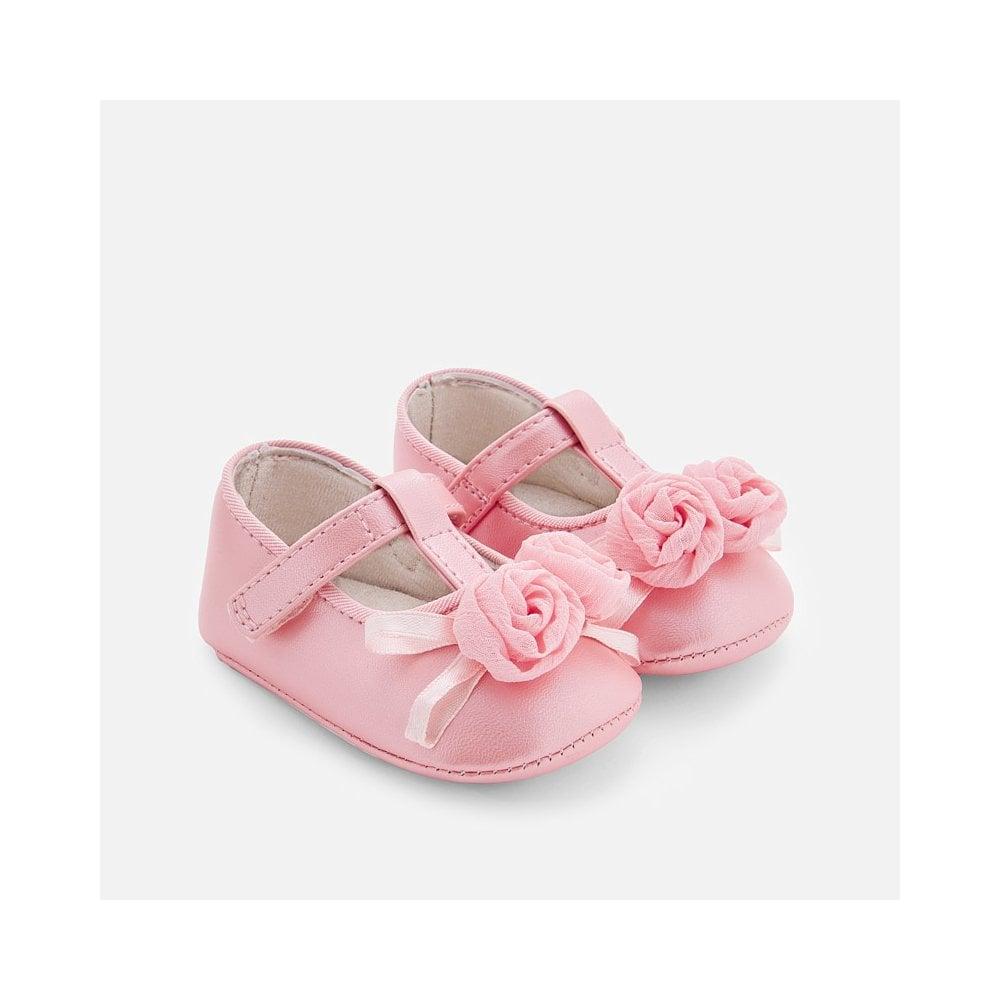 Mayoral-Baby-Girl-Flower-Pram-Shoes-in-Pink