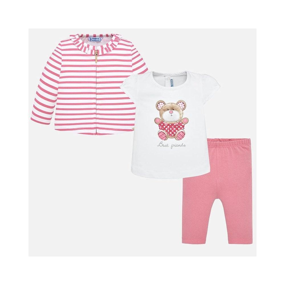 28bb312004864 Mayoral-Baby-Girl-Pink-Bear-3pc-Leggings-Set