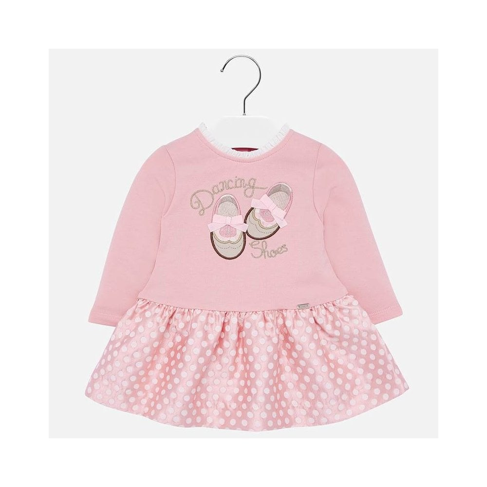 Rose-Pink-Dancing-Shoes-Jacquard-Dress