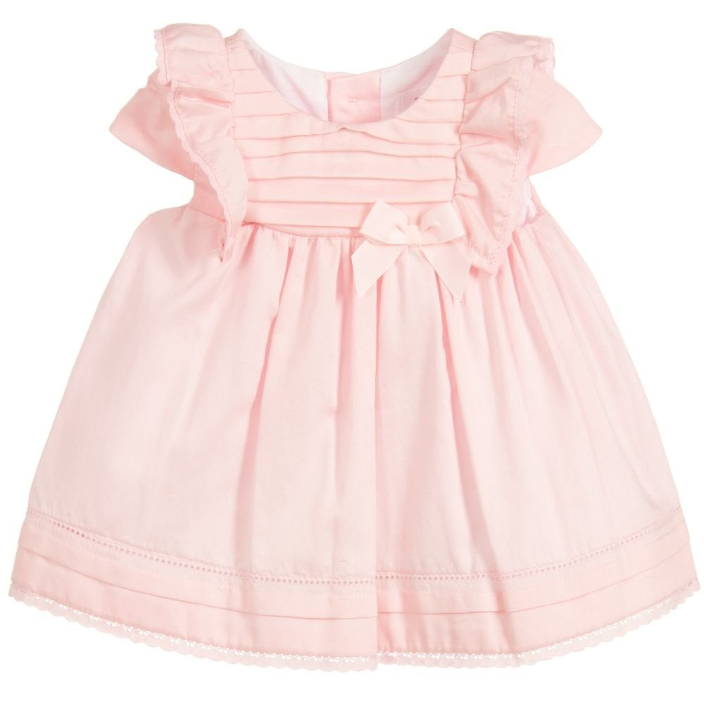 1c4d38a5c Mayoral-Baby-Girl-Pink-Cotton-Dress