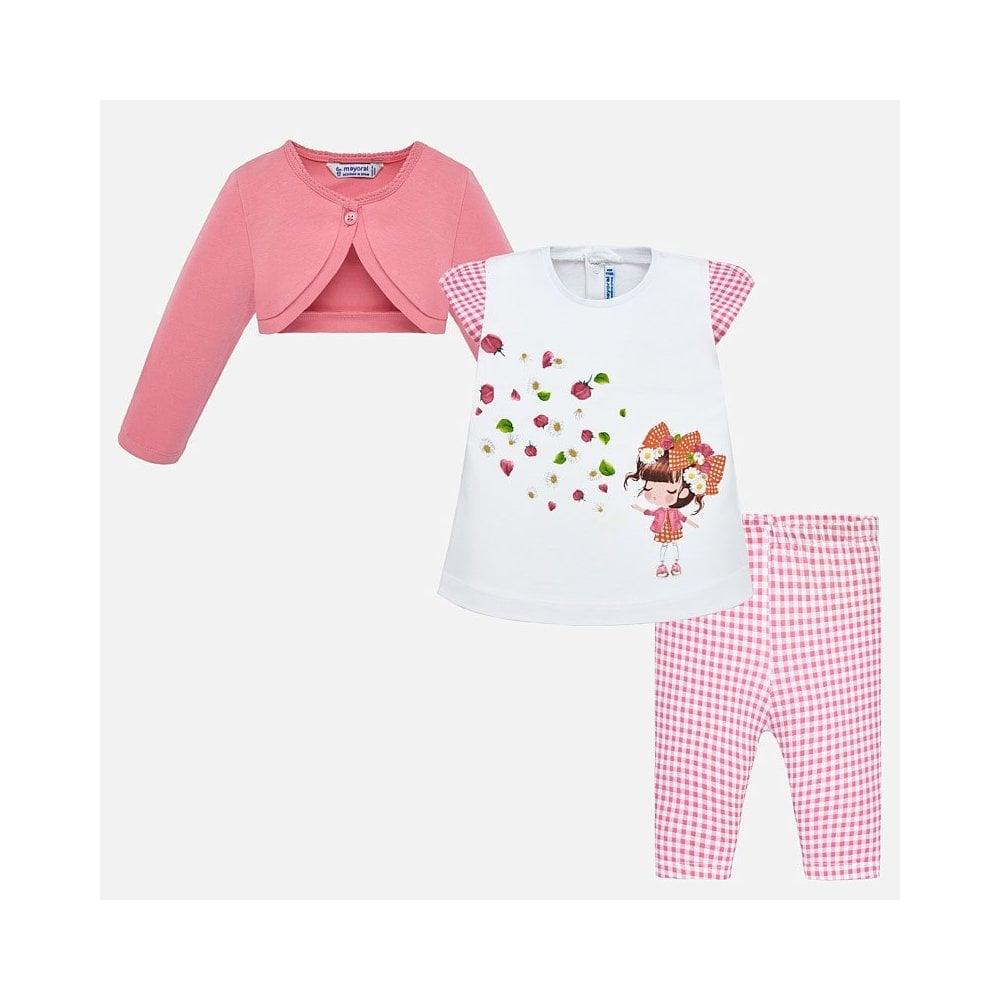 1989a925caeb2 Mayoral-Baby-Girl-Pink-Gingham-3pc-Legging-Set