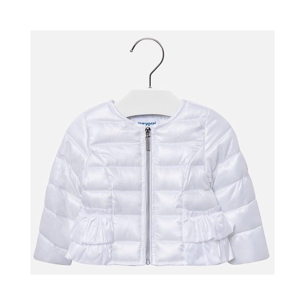 ea841df00 Mayoral-Baby-Girl-White-Ruffle-Jacket