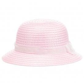 d9a3eabdf013 Baby Girls Pink Straw Hat NEW SEASON