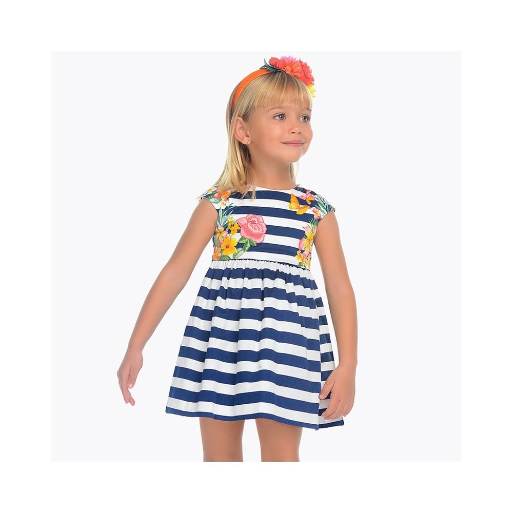 f3ab1608d195 Mayoral-Girls-Navy-and-White-Stripe-Dress