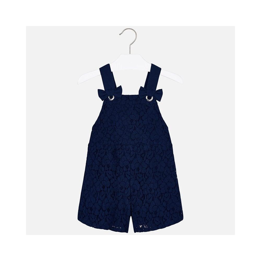 1b9abd991b6 Mayoral-Girls-Navy-Lace-Playsuit