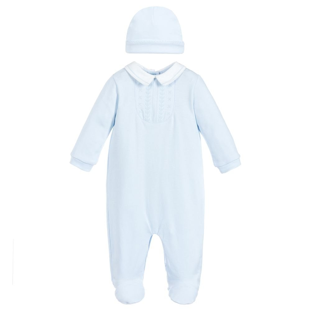 Mintini-Baby-Boy-Pale-Blue-Sleepsuit-and-Hat-Set 068aefcbb14