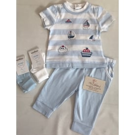 Baby Boy Top and Trouser Set