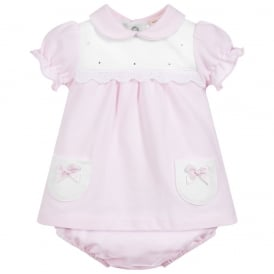 Baby Girl Diamante Dress and Pants