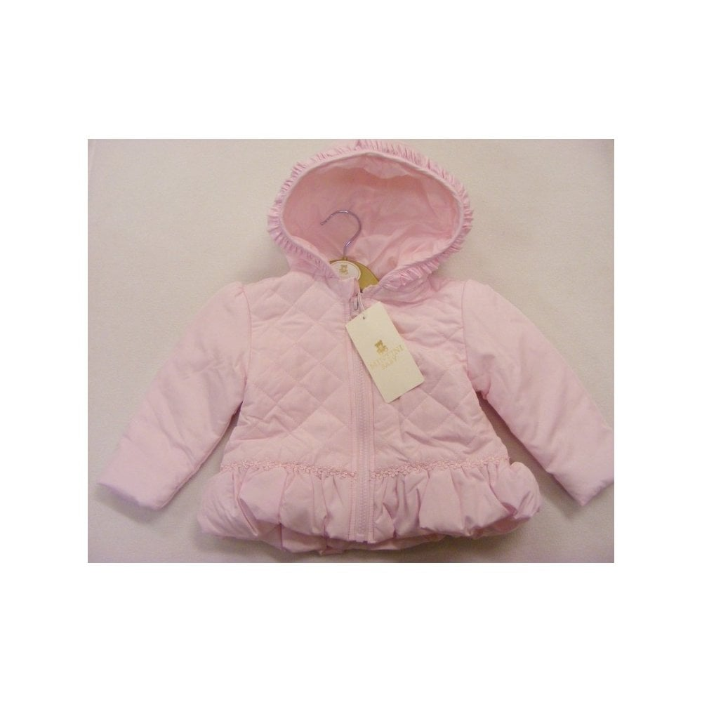 77dad507c0ca Mintini-Baby-Girl-Ivory-Padded-Jacket