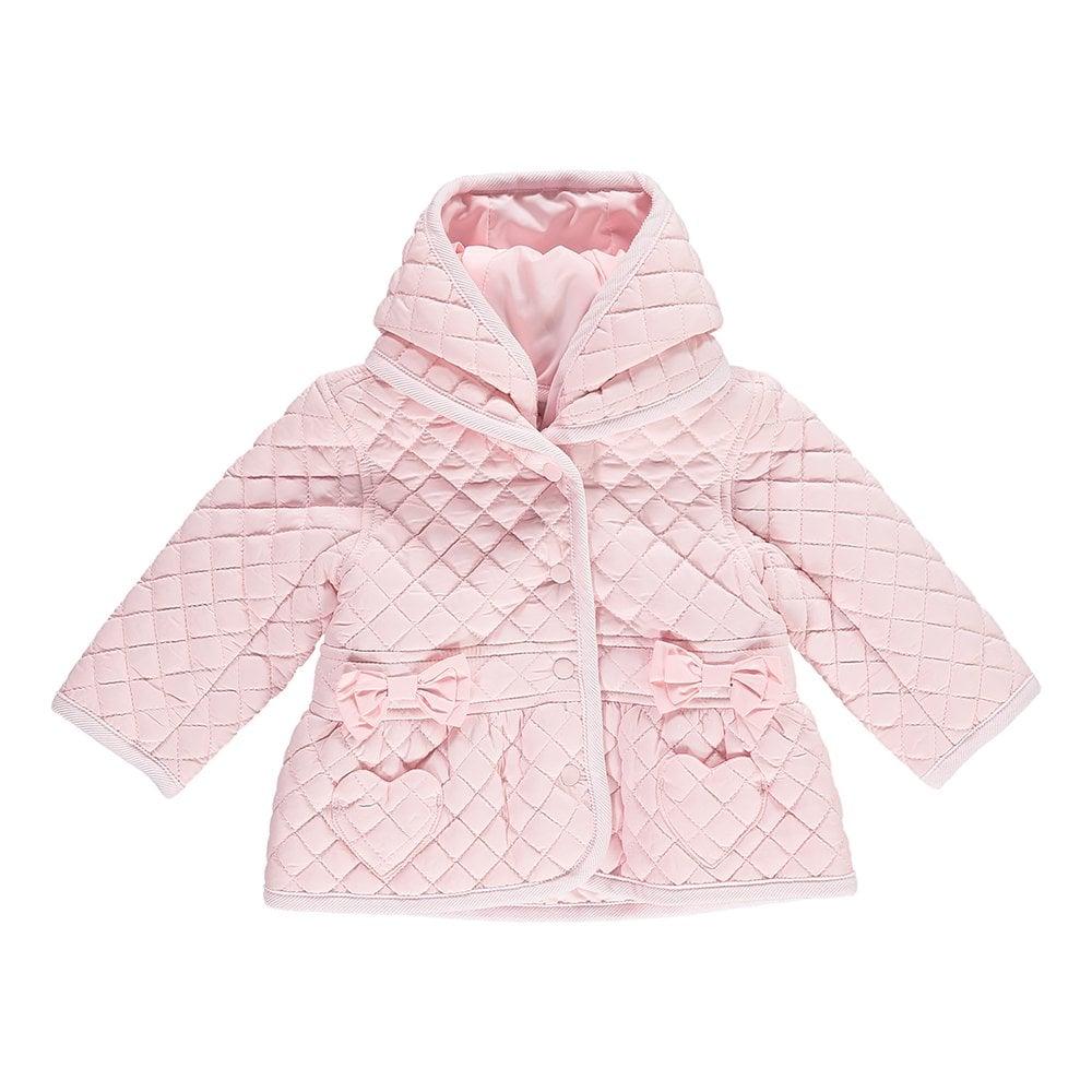 b3dd1f8ff451 Mintini-Baby-Girl-Pink-Padded-Jacket