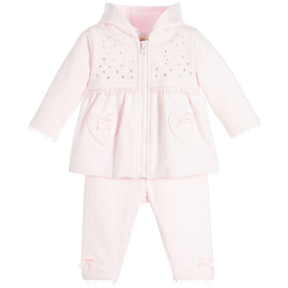 a8dadb05b9e5 Mintini-Baby-Girls-Pink-Tracksuit