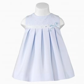 Baby Girl Pale Blue Dress