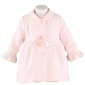 Baby Girls Pink Coat