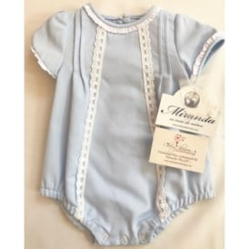 Baby Pale Blue A Line Romper