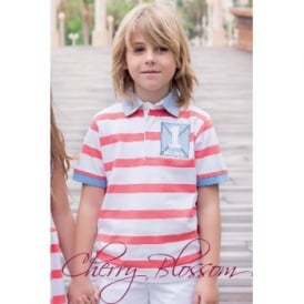 Boys Stripe Polo Shirt