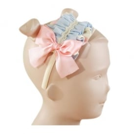 Girls Pink and Blue Headband