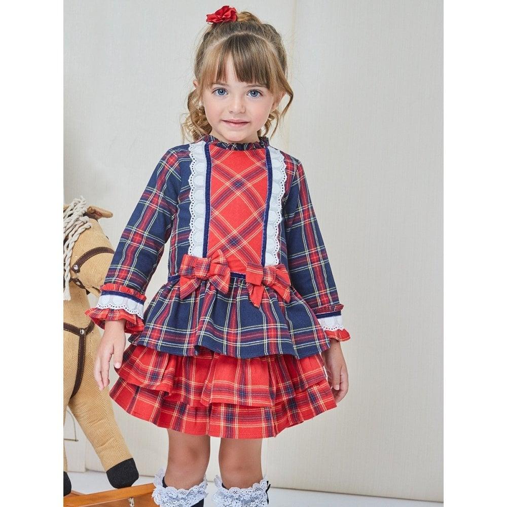 fa7ff33ae63a Newness-Girls-Tartan-Dress