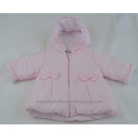 Baby Pale Pink Soft Cord Jacket