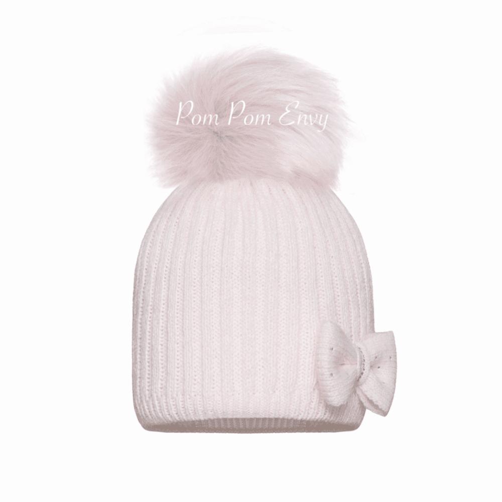 cb03afdcf Single Pom Pom Dream Hat - Pale Pink