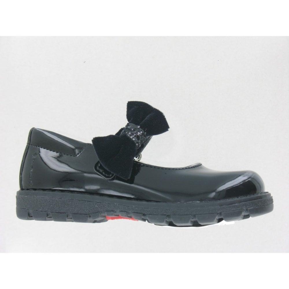 Primigi-Removable-Bow-School-Shoes-in-Black