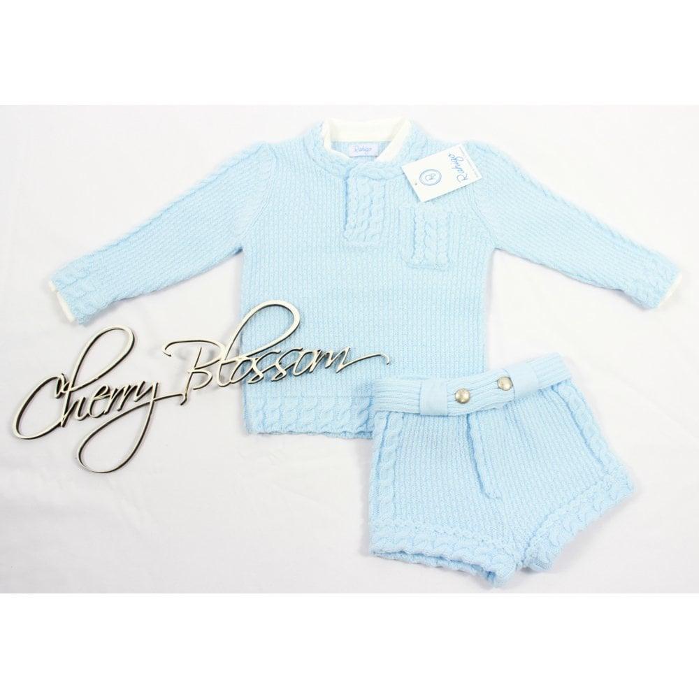 02e7d7104 Rahigo-Baby-Boy-Pale-Blue-Short-Set