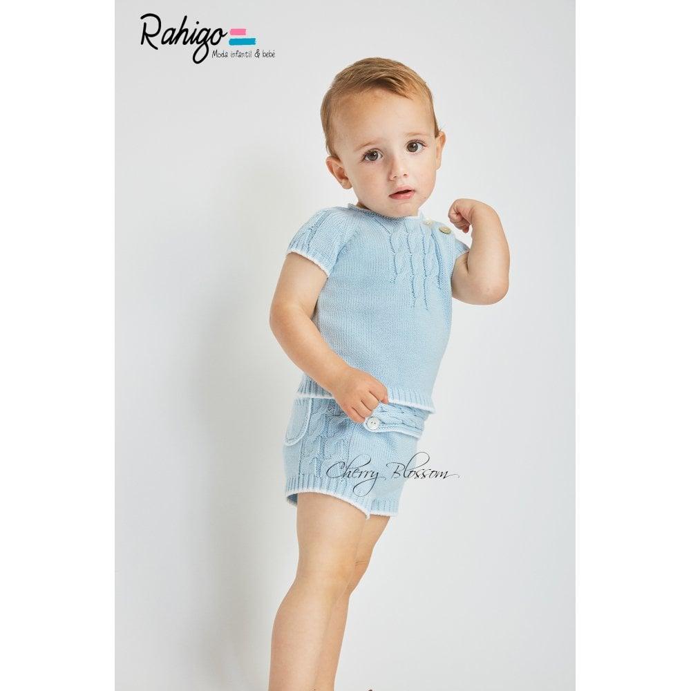 27fd30d86 Rahigo-Baby-Boy-Pale-Blue-Short-Set-SS19