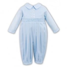 Boys Blue Romper 9966